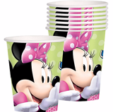 Ly giấy Minnie 8/gói - Minnie Mouse paper cups 8/pack