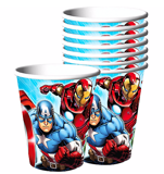 Avengers paper cups 8/pack