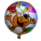 Happy dog Foil Balloon
