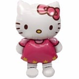 Bong bóng hình kitty lớn - Kitty foil balloon large