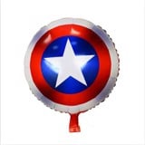 Captain shield foil balloon