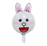 Cony Rabbit face foil balloon