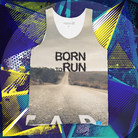 Born To Run - Tank Top
