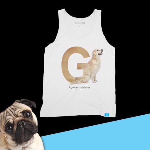 Golden Retriever - Tank Top