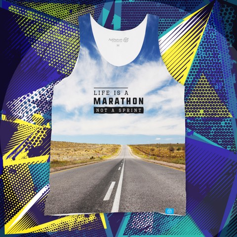 Life Is A Marathon - Tank Top