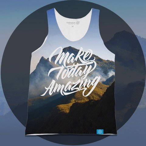 Mountain - Make Today Amazing - Tank Top