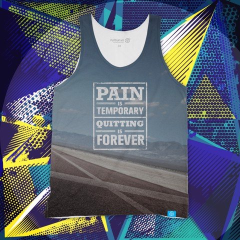 Pain Is Temporary - Tank Top