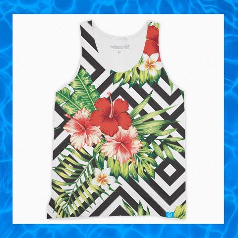 Tropical Hibicus - Tank Top