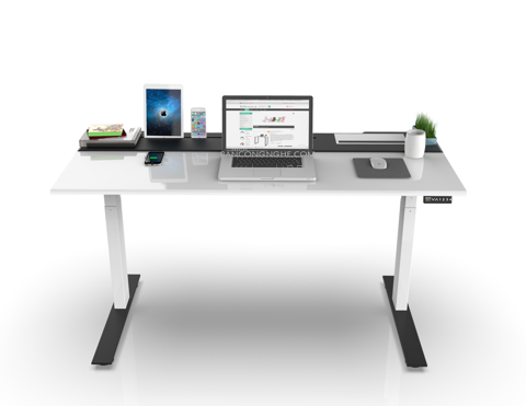 SMARTDESK WHITE BLACK