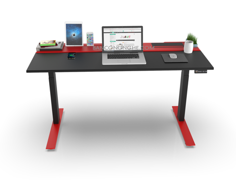 SMARTDESK RED BLACK