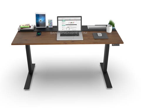 SMARTDESK WOOD BLACK