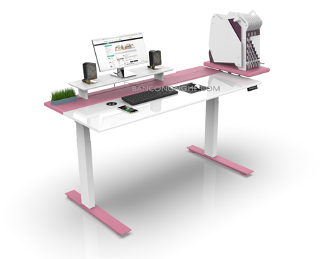 SMARTDESK GAMING PC PINK