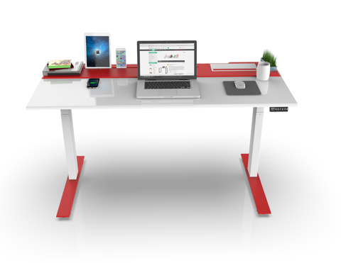 SMARTDESK  RED WHITE