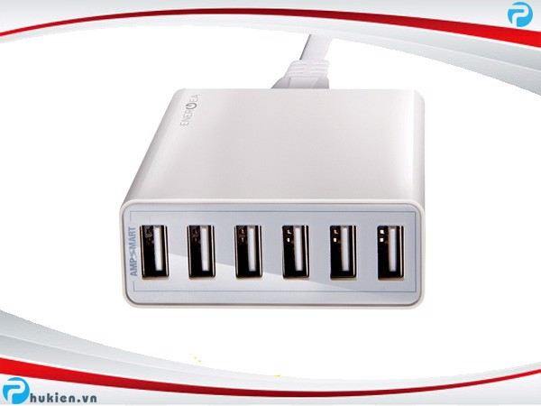 Sạc Energea Power Hub 6 USB - 50W