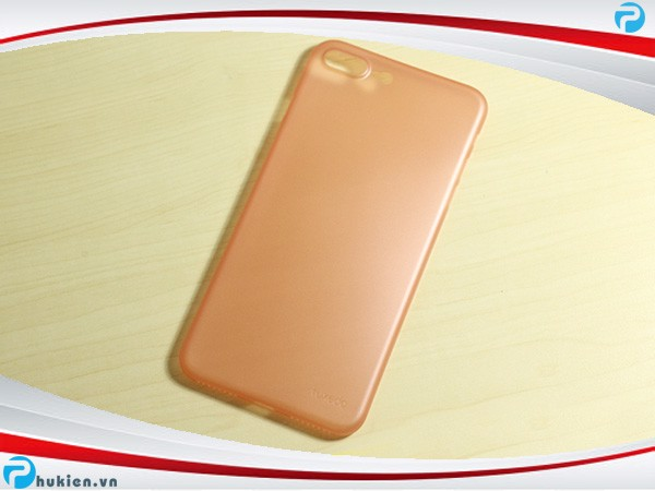 Ốp lưng iPhone 7 Plus siêu mỏng Tuxedo rose gold