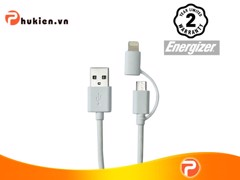 ENERGIZER HT  DUO LIGHTNING-MICRO-USB CABLE 1M WHITE