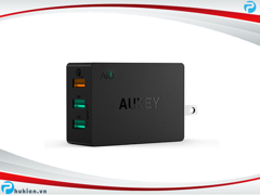Sạc Aukey 3 cổng USB | Quickcharge 2.0 (PA-T2)
