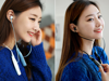 Tai nghe Bluetooth Croise.R PSB 100 - Light blue