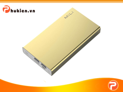 Mili Power Data I (HB-T60)-6000 mAh ( Vàng Kim )