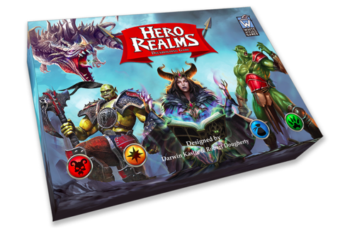 US - Hero Realms Deck Building Game