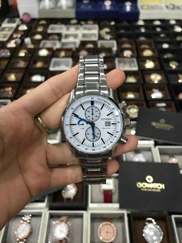 CITIZEN CA0590-82A STAINLESS MEN'S CHRONOGRAPH SPORT WATCH