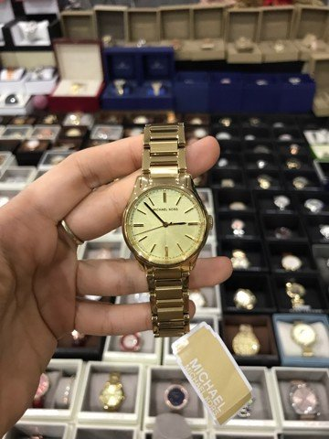 Michael Kors Women's Classic Gold Tone Stainless Steel Watch 36mm MK3615