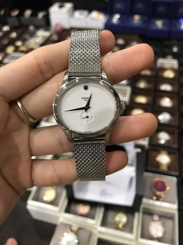 Tissot Bella Ora Silver Dial Silver Stainless Steel Ladies Watch T1033101103100