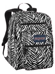 Jansport Big Student Backpack (M) JS00TDN7 Zebra