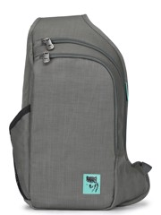 Mikkor - D'Leh Sling Backpack S Grey