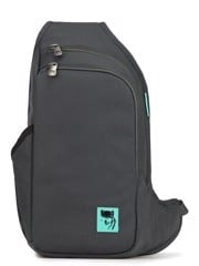 Mikkor - D'Leh Sling Backpack S Dark Mouse Grey
