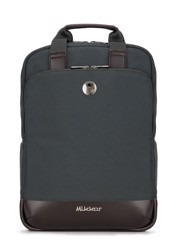 Mikkor The Willis Backpack (L) Charcoal