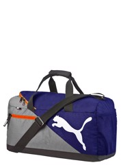 Puma Foundation Small Sports Bag Navy/Grey