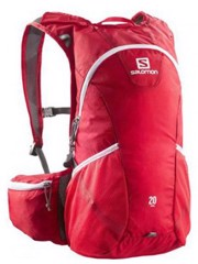 \Salomon Trail 20 Backpack (M) Red