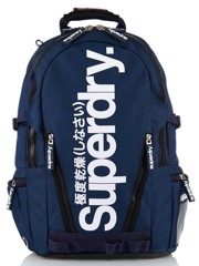 Superdry Marl Tarp Backpack (M) Navy