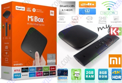 TV Box Xiaomi Mibox 4K Global RAM 2GB giá rẻ