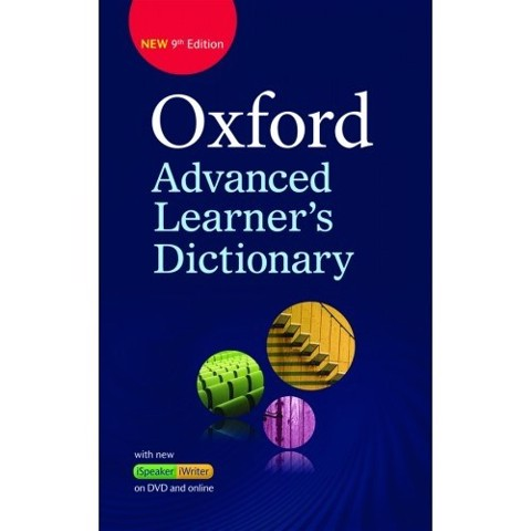 TỪ ĐIỂN OXFORD ADVANCED LEARNER DICTIONARY (BÌA CỨNG) - 9TH EDITION (KÈM DVD VÀ CODE ONLINE)