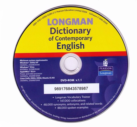 LONGMAN DICTIONARY OF CONTEMPORARY ENGLISH (5TH EDITION)