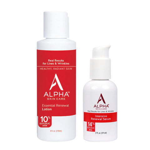 <p>AHA lotion & serum Alpha Hydrox Combo For All Skin Type - Combo AHA lotion và serum chăm sóc da mặt