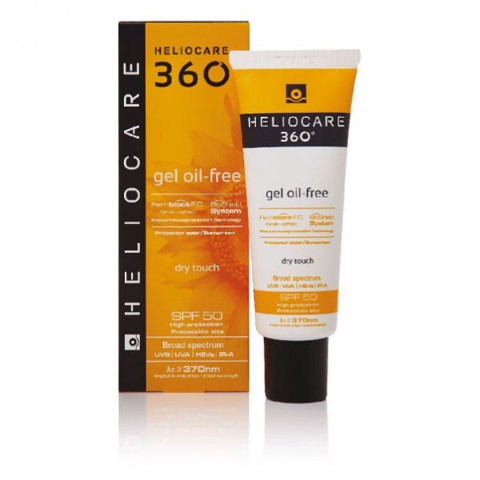 <p>Heliocare 360 Gel Oil Free SPF 50 - Kem chống nắng dạng gel Oil Free SPF 50