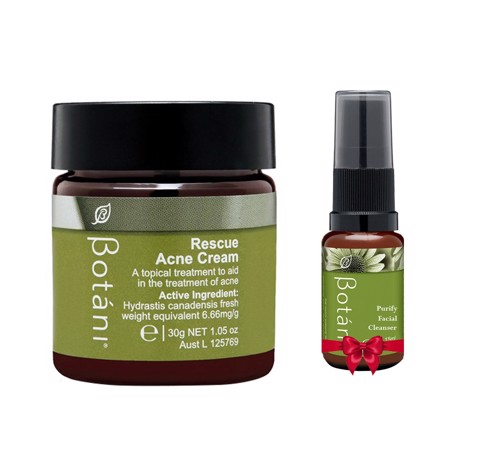 <p>Rescue Acne Cream +  Purify Facial Cleanser - Combo Rescue Acne Cream 30g tặng Purify Facial Cleanser 15ml