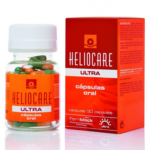 <p>Heliocare Oral Ultra - Viên uống chống nắng