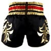 QUẦN TWINS SPECIAL MUAY THAI SHORTS BLACK GOLD T-154