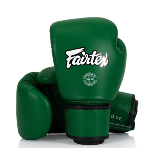 GĂNG TAY FAIRTEX BGV16 GREEN BOXING GLOVES