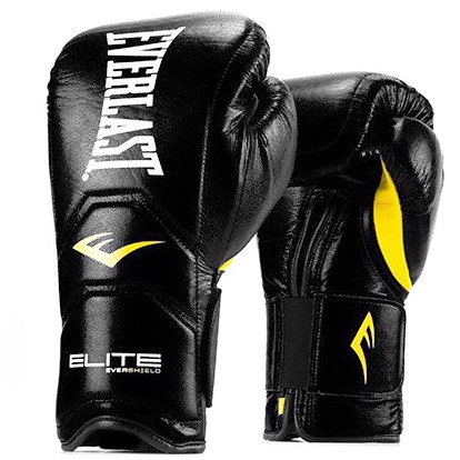 GĂNG TAY EVERLAST ELITE HOOK & LOOP TRAINING GLOVES