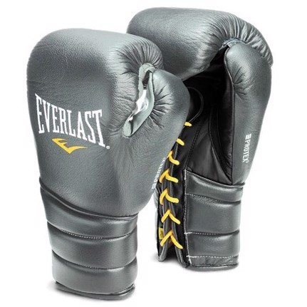 GĂNG TAY EVERLAST PROTEX3 PROFESSIONAL FIGHT BOXING GLOVES - GREY