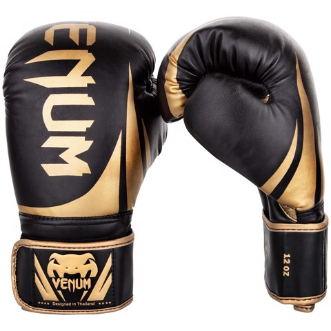 GĂNG TAY VENUM CHALLENGER 2.0 BOXING GLOVES - BLACK/GOLD