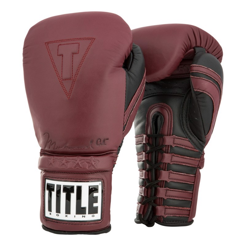 GĂNG TAY TITLE ALI AUTHENTIC LEATHER LACE TRAINING GLOVES