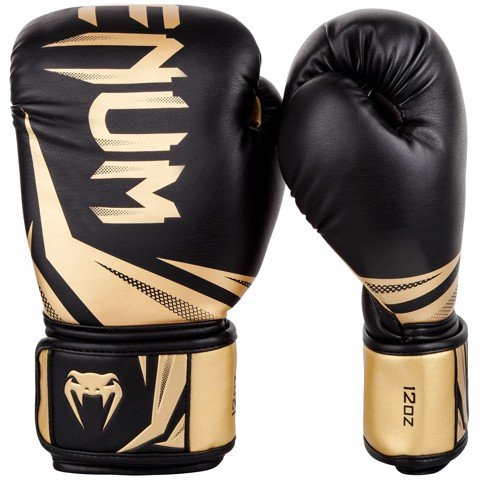 GĂNG TAY VENUM CHALLENGER 3.0 BOXING GLOVES - BLACK/GOLD