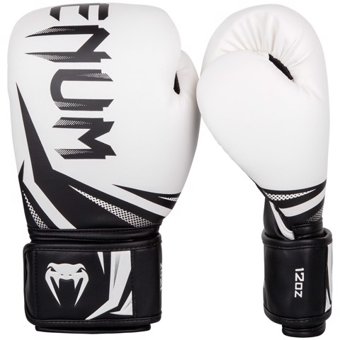 GĂNG TAY VENUM CHALLENGER 3.0 BOXING GLOVES - WHITE/BLACK
