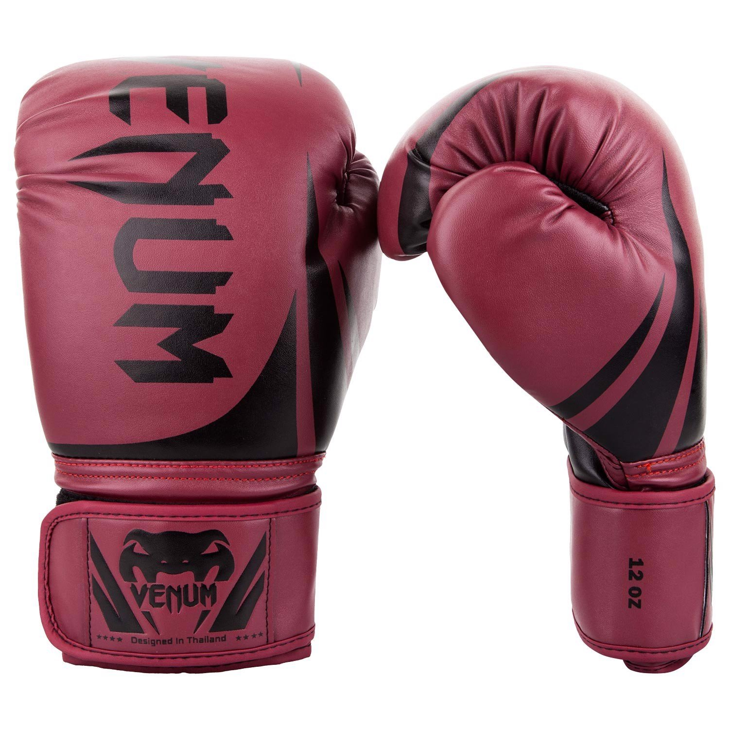 GĂNG TAY VENUM CHALLENGER 2.0 BOXING GLOVES - RED WINE/BLACK